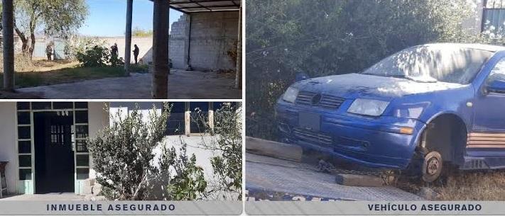 Fiscalía cateó inmueble en Tlacotepec de Benito Juárez