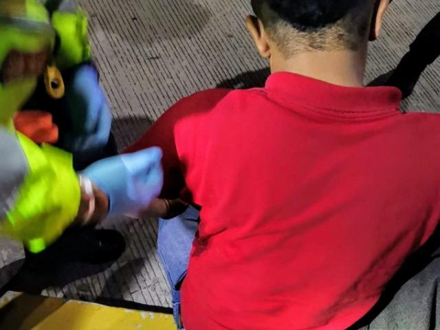 Chofer de la tienda Oxxo resulta herido de bala sobre la México- Puebla