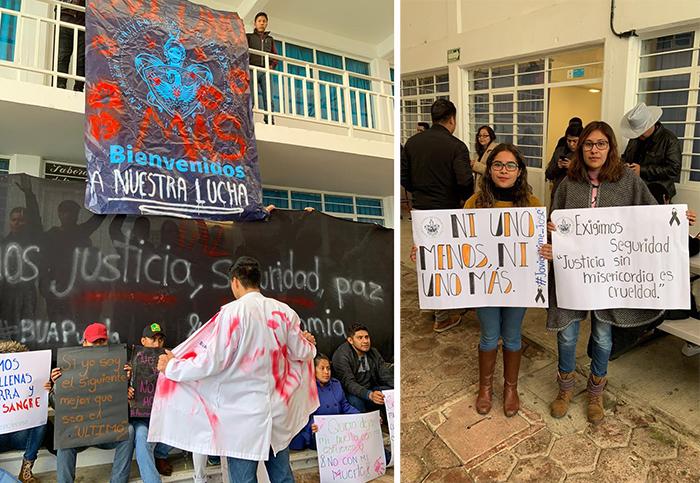 BUAP en Tlatlauquitepec se suma a protestas y paros