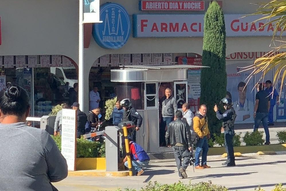 Banda de El Chango, responsable de balacera en Plaza Tolín