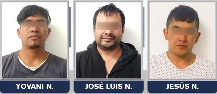 Presuntos narcomenudistas de Texmelucan fueron vinculados