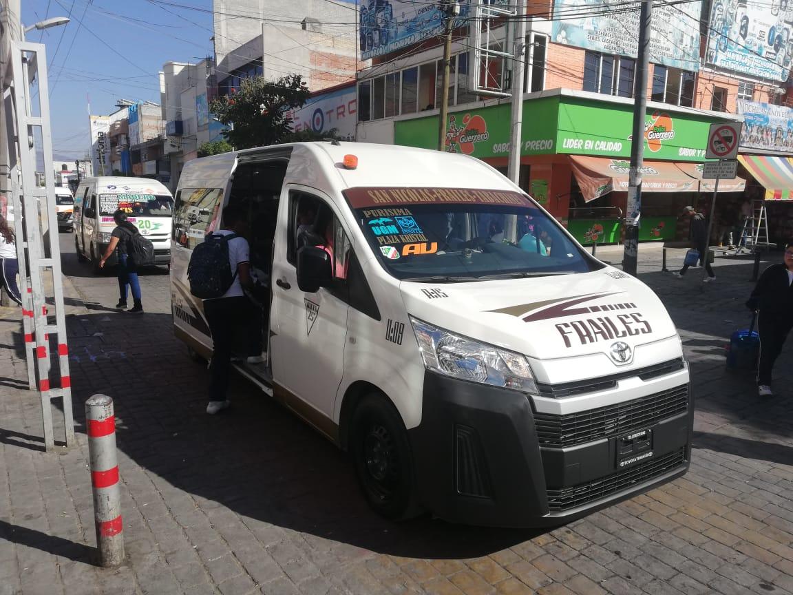 Hay en Tehuacán 500 unidades del transporte sin mecanismos de seguridad