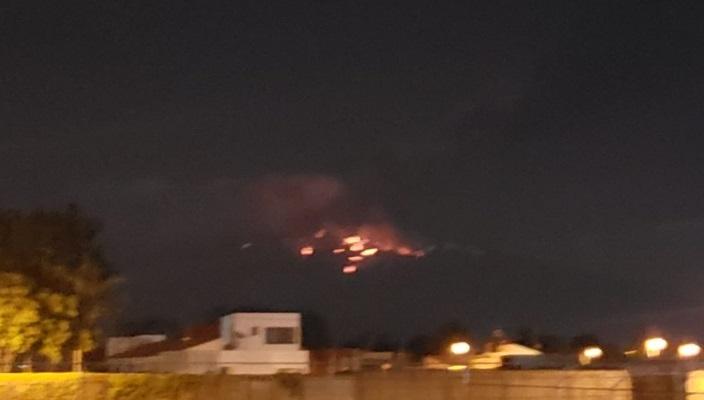 Sustazo en Atlixco por explosión del Popocatépetl