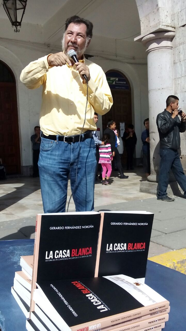 Moreno Valle será candidato presidencial, pero del PANAL: Fernández Noroña