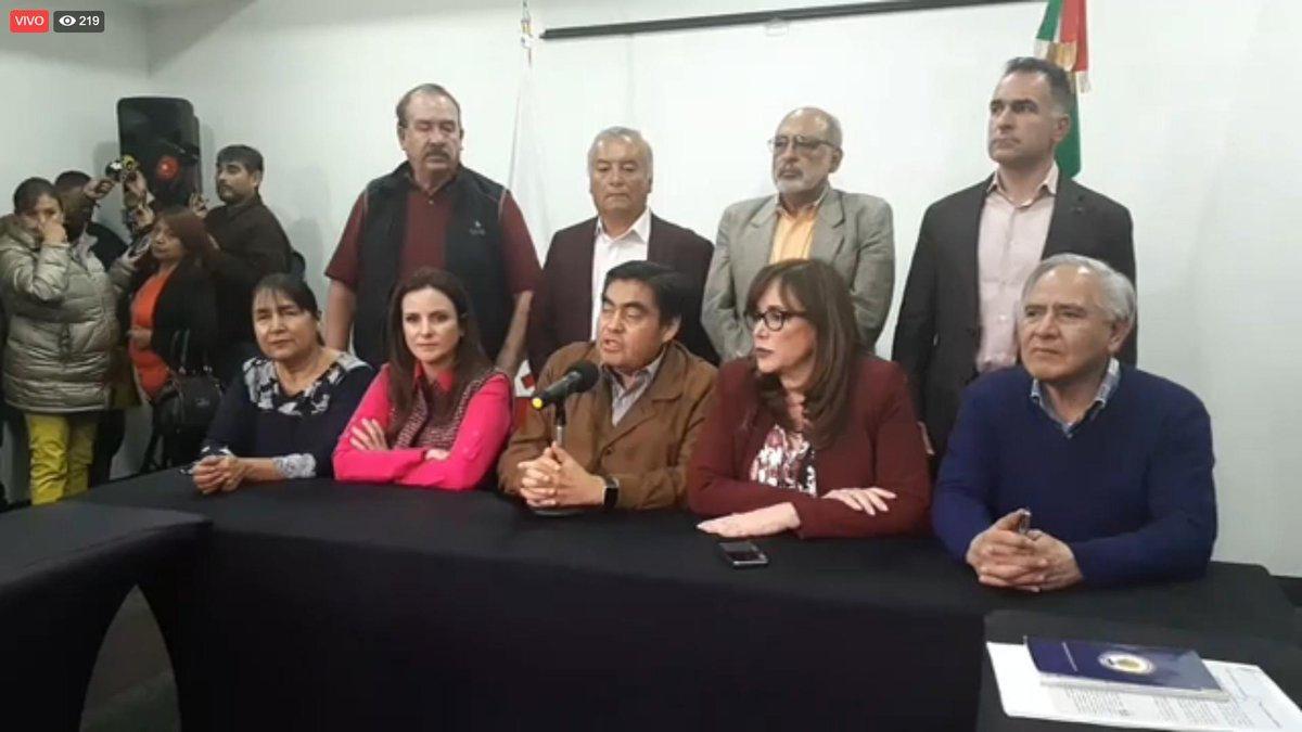 Barbosa, otra vez candidato de Morena a la gubernatura