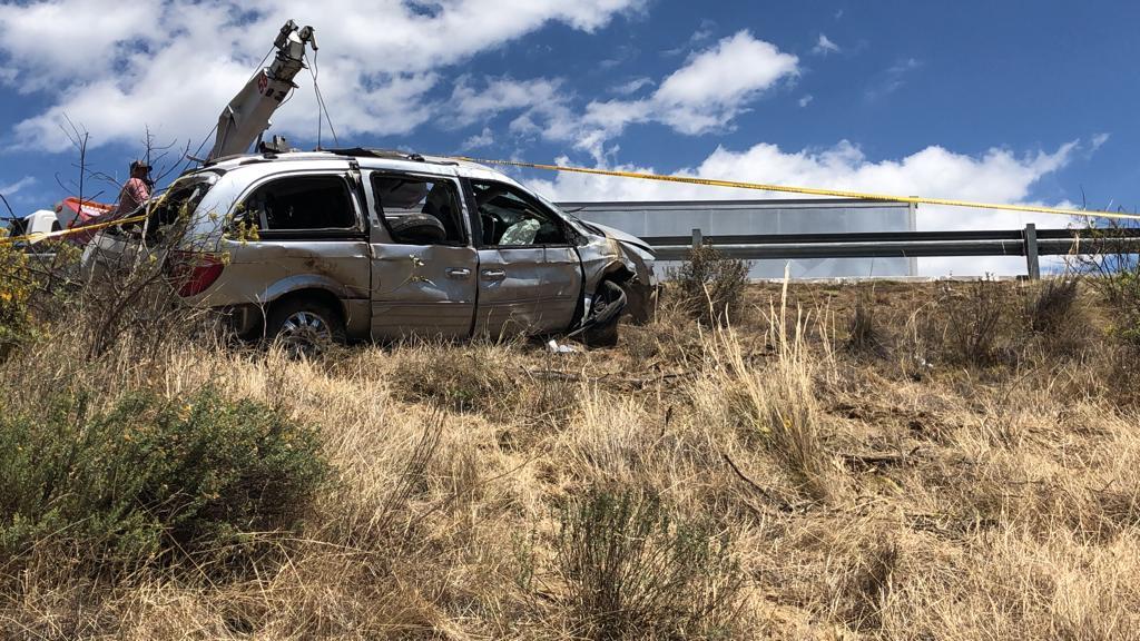 Fallece en accidente edil auxiliar de Tepeixco, Zacatlán