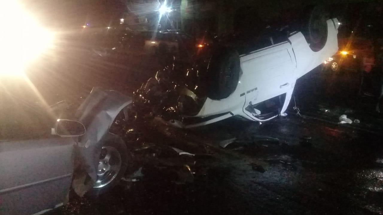 Cinco muertos en choque sobre la México-Tuxpan