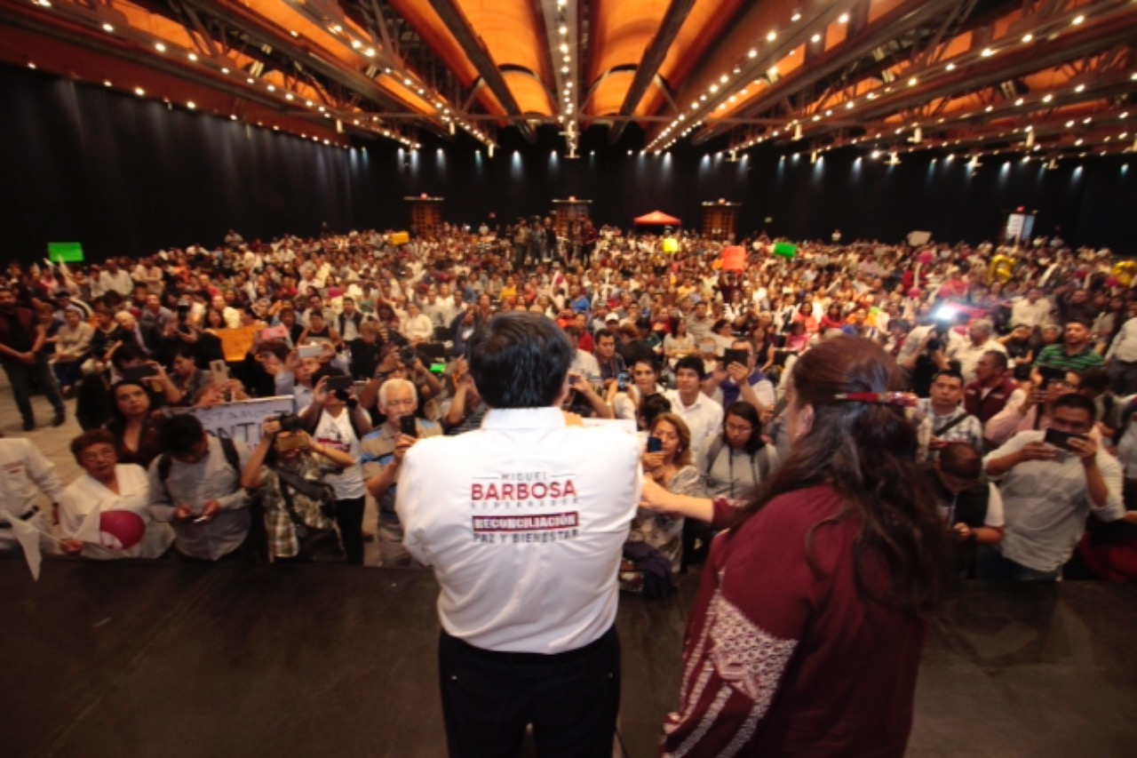 VIDEO Reinstalará Barbosa a trabajadores despedidos por RMV