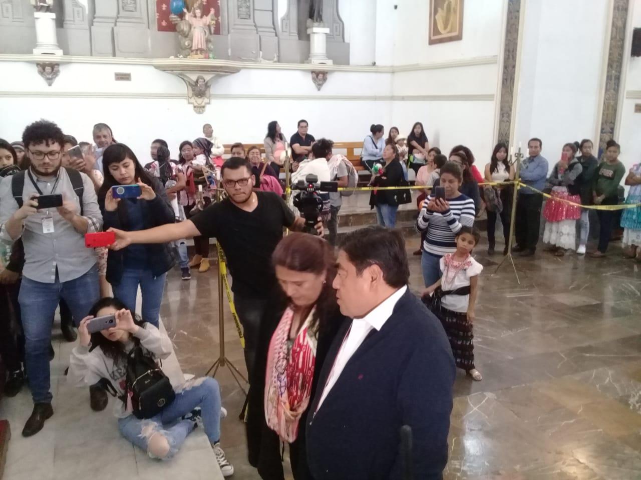 Reporta Barbosa saldo blanco en fiestas de la Virgen de Guadalupe