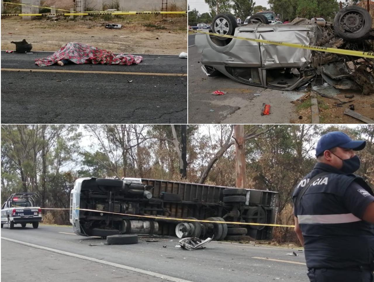 Choque frontal deja un muerto y un herido grave en Tlahuapan