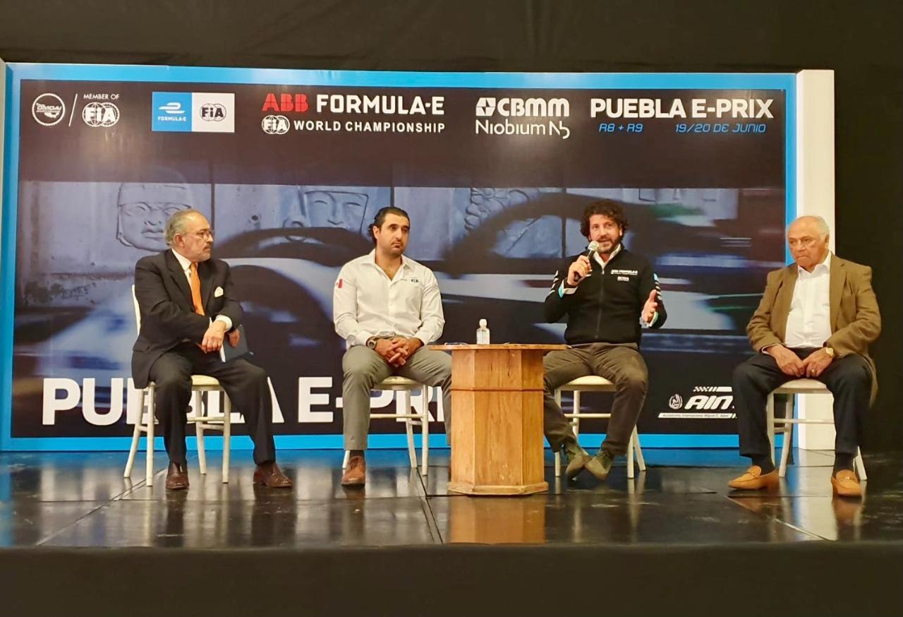 Llega la Fórmula E a Puebla