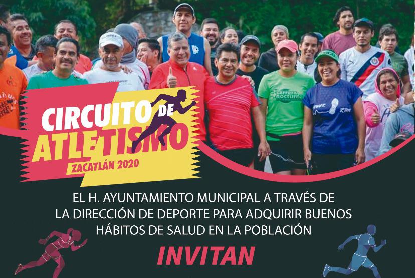 Únete al reto del circuito de atletismo en Zacatlán