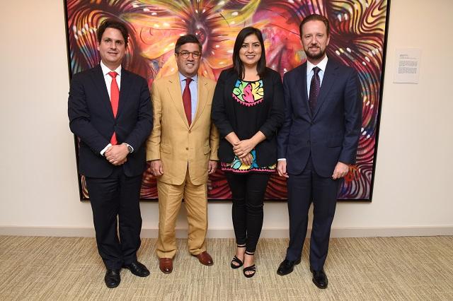 Ante el BID, Banck y Rivera presentan proyectos estratégicos