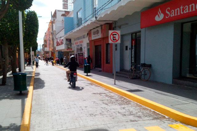 Cabildo decidirá permanencia de ambulantes en centro de Texmelucan