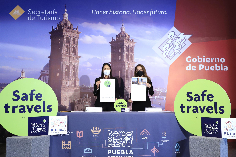 Puebla, facultada para otorgar sello Safe Travels a establecimientos turísticos