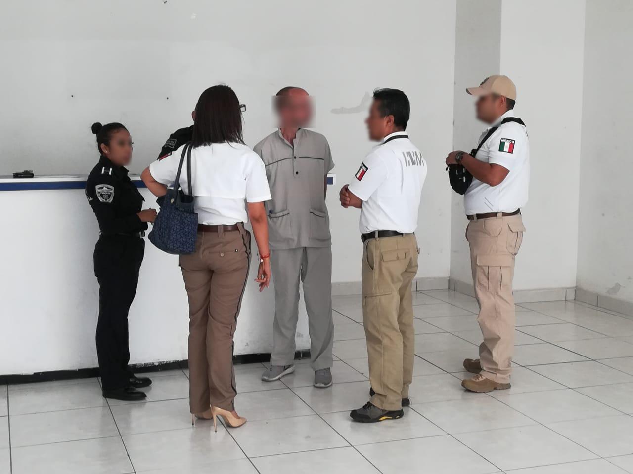 Pornógrafo infantil de EE.UU. es detenido en San Andrés Cholula
