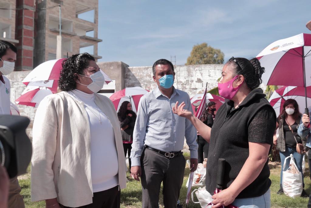 Emprende Karina Pérez Jornadas Integrales por los Sanandreseños