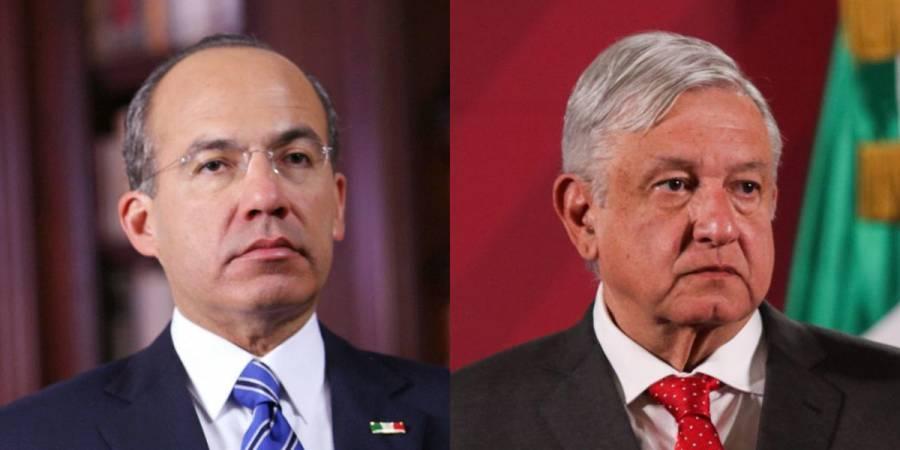 AMLO asegura que ya perdonó a Calderón por robarle la Presidencia