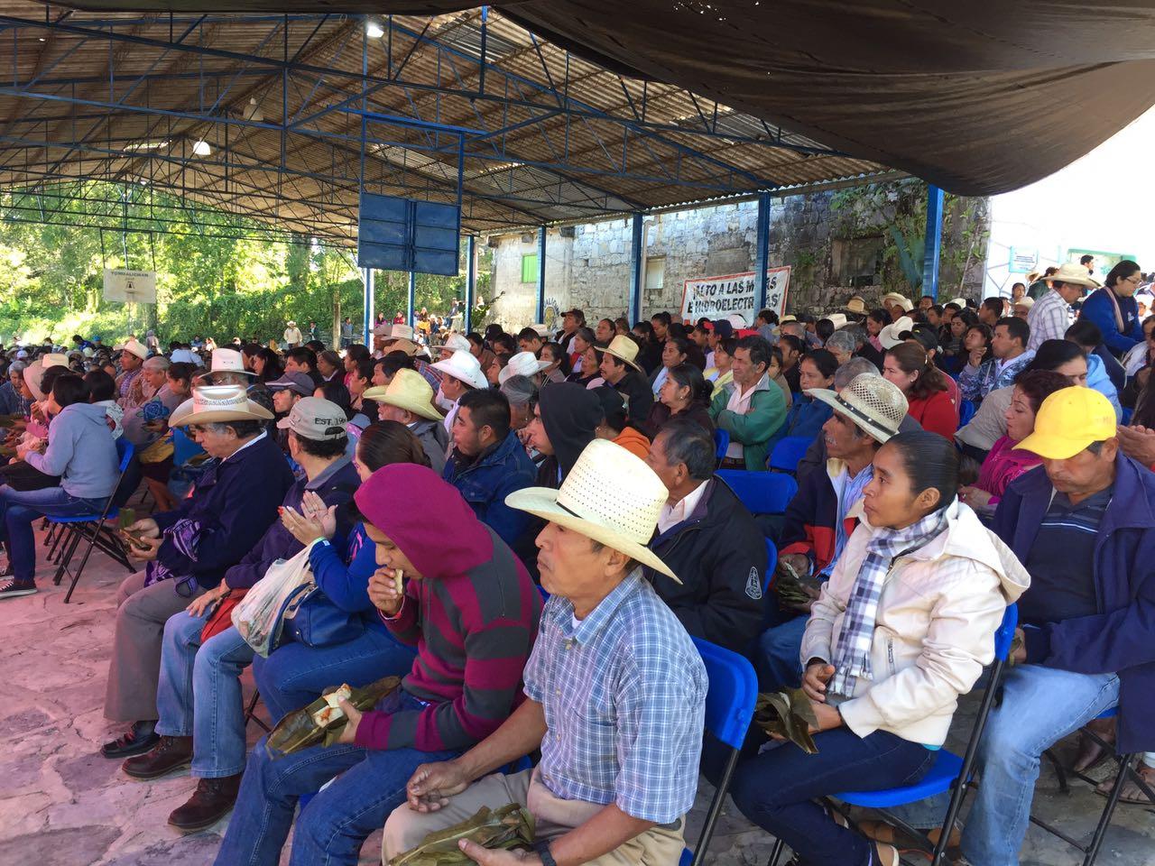 Macehuales exigen cancelar minas en Sierra Norte de Puebla