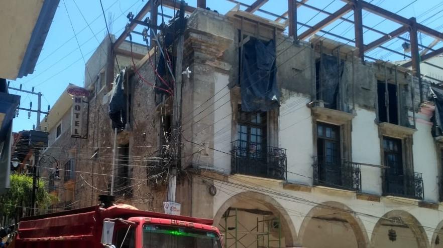 Edil de Huauchinango se deslinda de obras en hotel de su familia