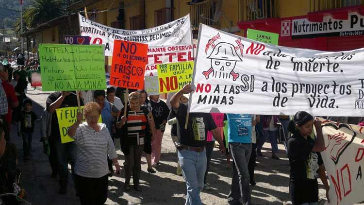 Minería sólo traerá ecocidio y genocidio a Puebla: Tetela Hacia el Futuro