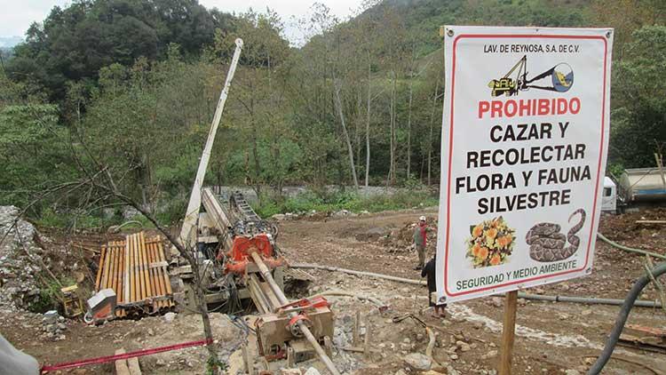 Abanderan opositores a la minería causa de Cuacuila contra Gasomex