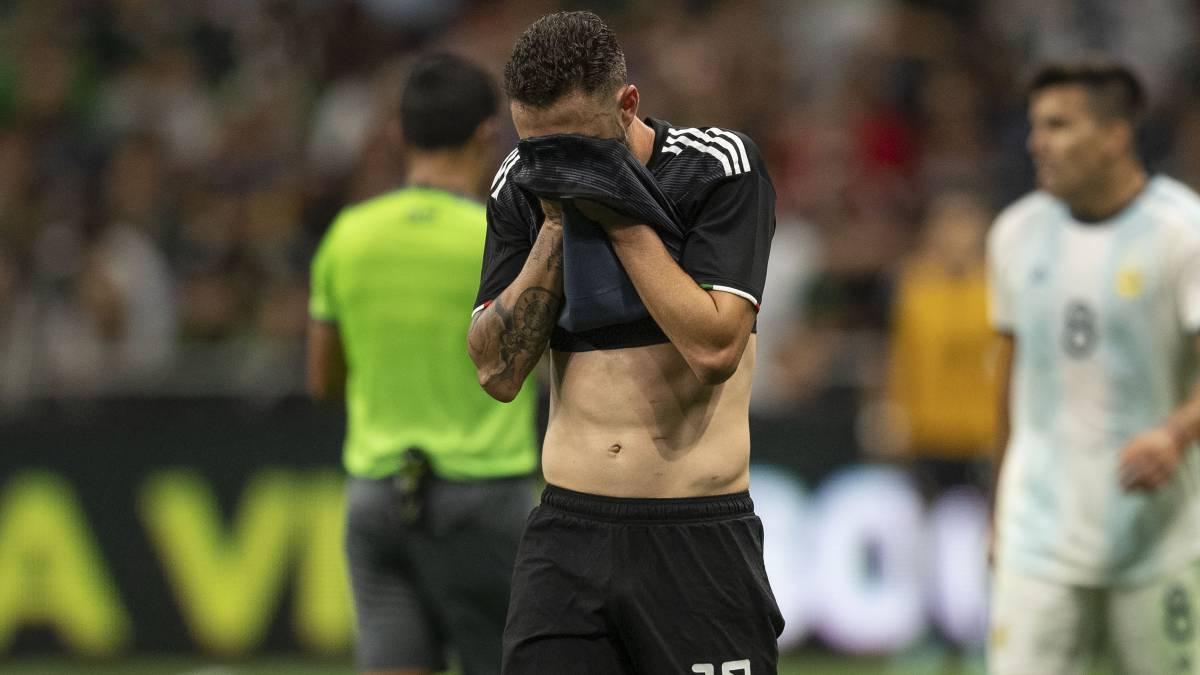 Humilla Argentina a México con 4 goles