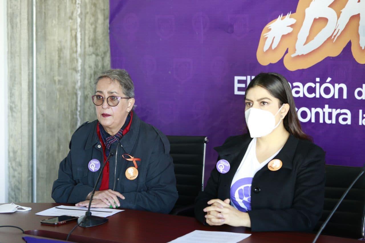 Claudia Rivera reitera compromiso erradicar violencia contra las mujeres