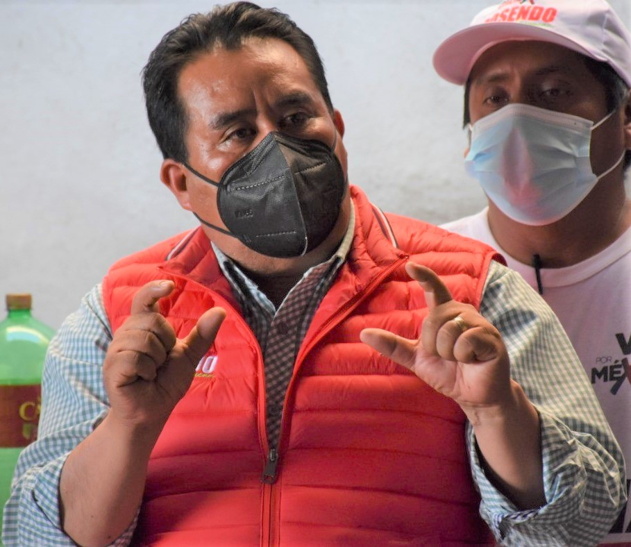 En defensa del presidente electo de Ocoyucan: Antorcha