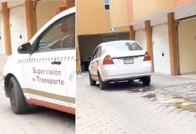 VIDEO Cachan a trabajadores de gobierno en motel de Puebla