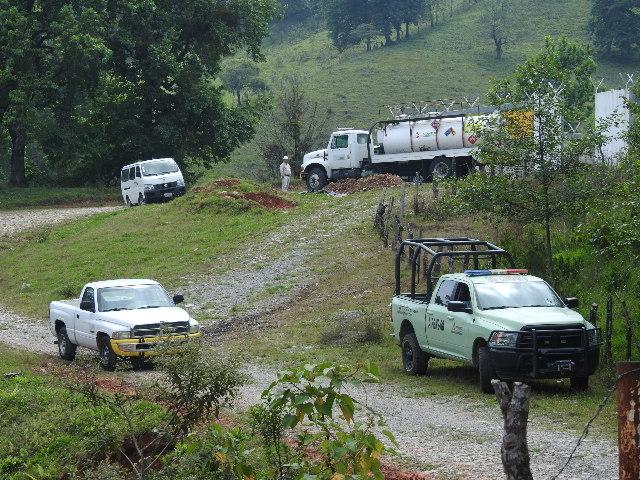 Huachicoleros enfrentan a policías de Huauchinango
