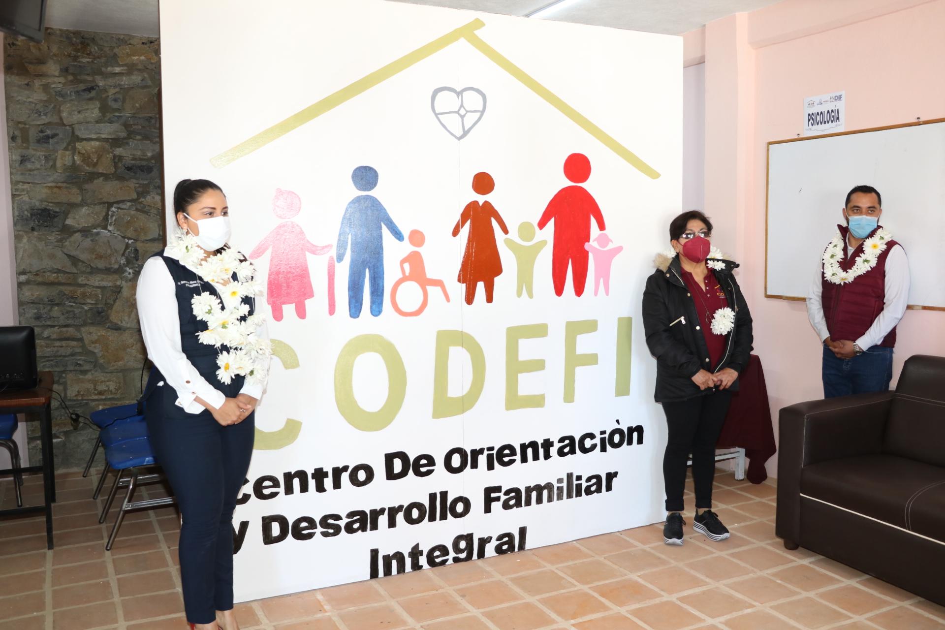 Abre DIF centro de orientación familiar en Tetela
