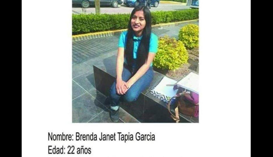 Brenda salió de Texmelucan y desapareció en Tlaxcala