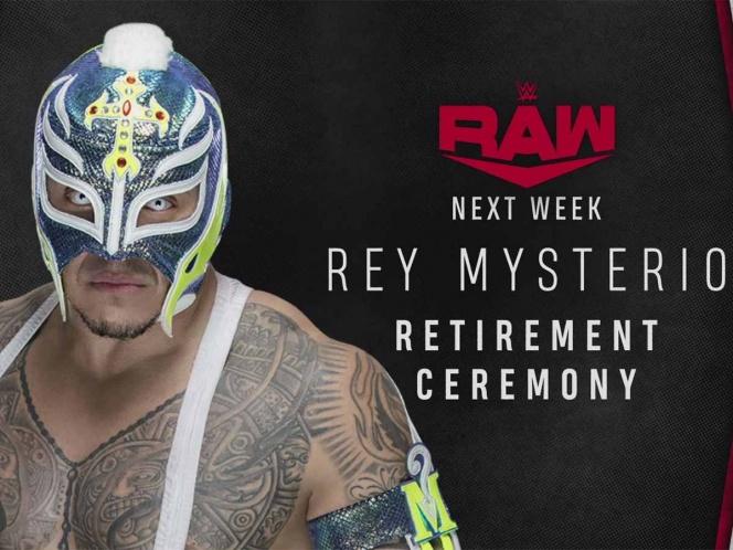 Tras hospitalización de Rey Misterio WWE anuncia ceremonia de retiro