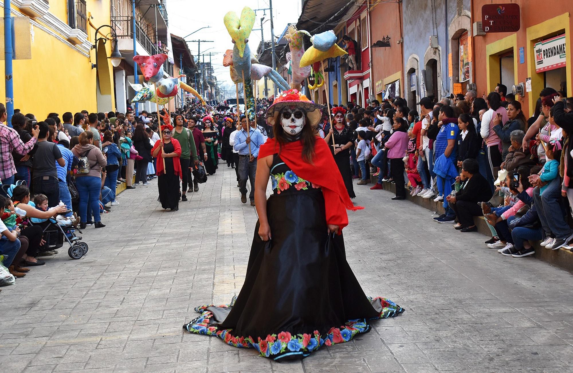 Así inició el segundo festival La Llorona en Tlatlauquitepec