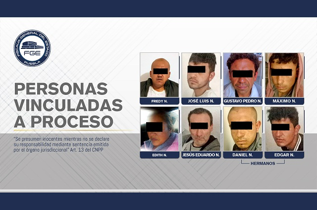 Detienen a 8 presuntos delincuentes en cateos en Chignahuapan