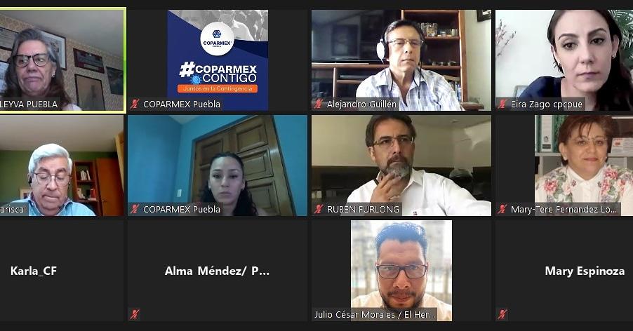 Coparmex y CEPC Puebla invitan a candidatos presentar su declaración #3de3