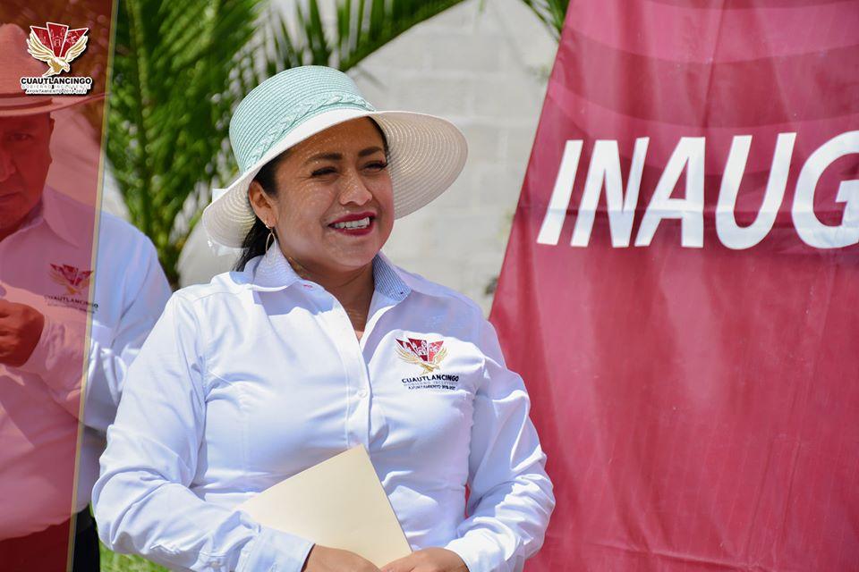 Alcaldesa de Cuautlancingo se apunta para diputada local en 2021