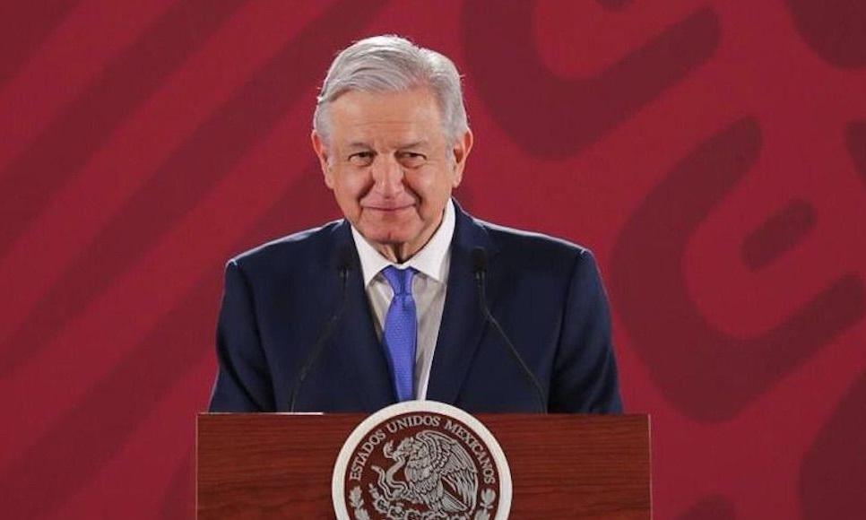 AMLO desde Puebla encabeza conferencia mañanera