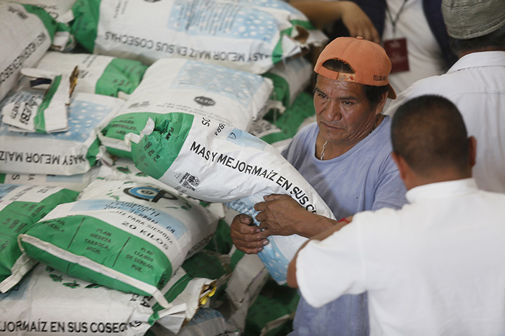 Culmina programa Insumos para el campo en San Andrés Cholula