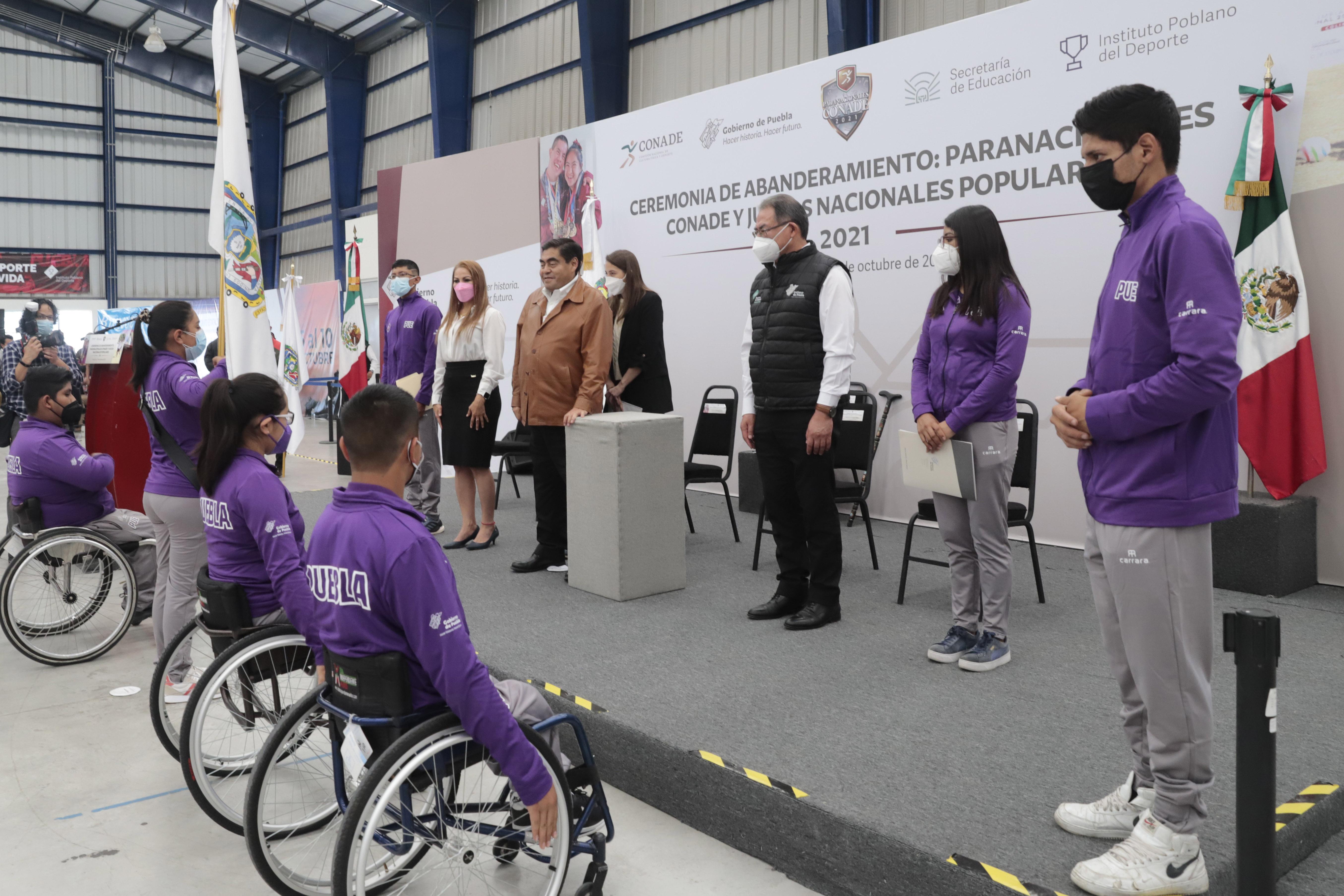 Paratletas poblanos, presentes en Juegos Nacionales Populares y Paranacionales de CONADE