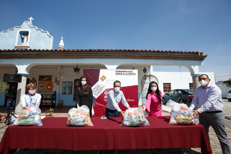 Asilos de Puebla cuentan con apoyos alimentarios del SEDIF