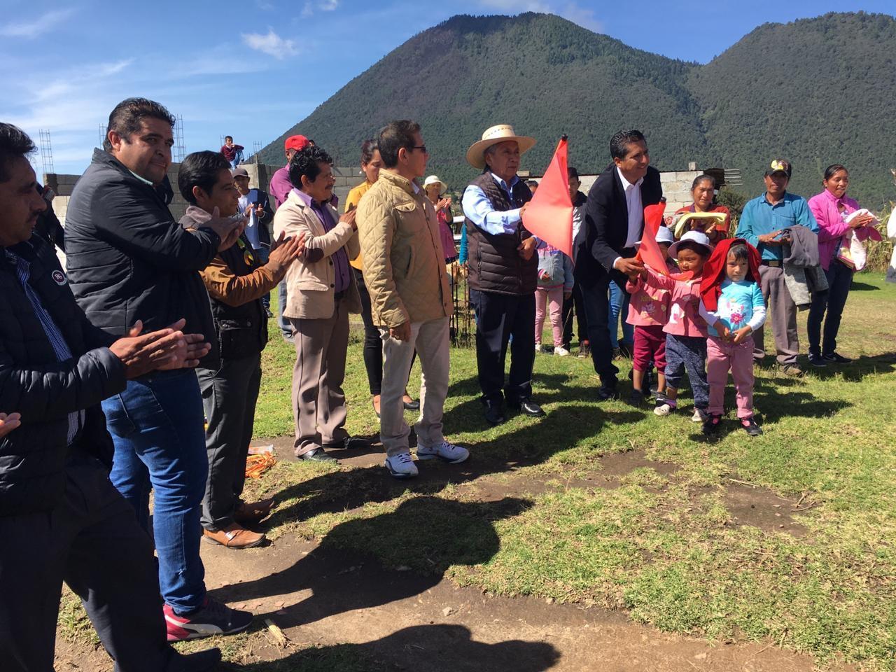 Inician segunda etapa de depósito de agua en Nopalucan