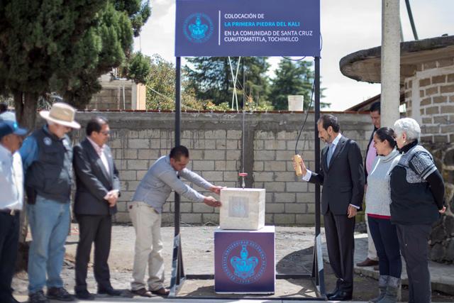 Construye BUAP centro comunitario Kali en Tochimilco