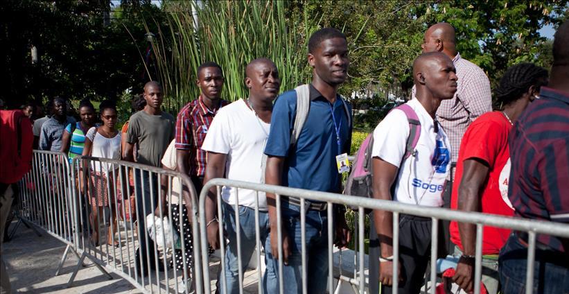 Frontera sur de México, saturada por haitianos