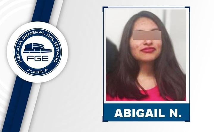 Abigail desapareció en SLP y apareció en Castillotla