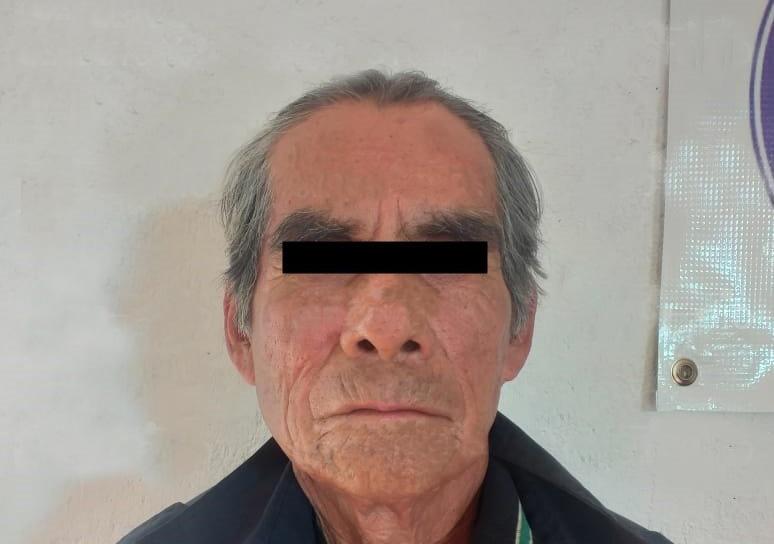 Cae anciano que violó a su sobrina en Tecali de Herrera