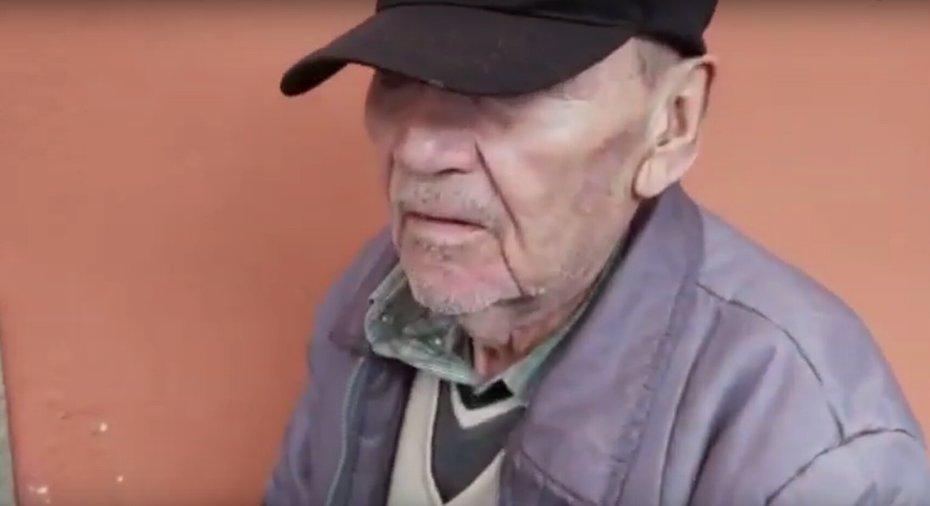 Devotos de San Judas Tadeo abandonan a abuelito de 80 años