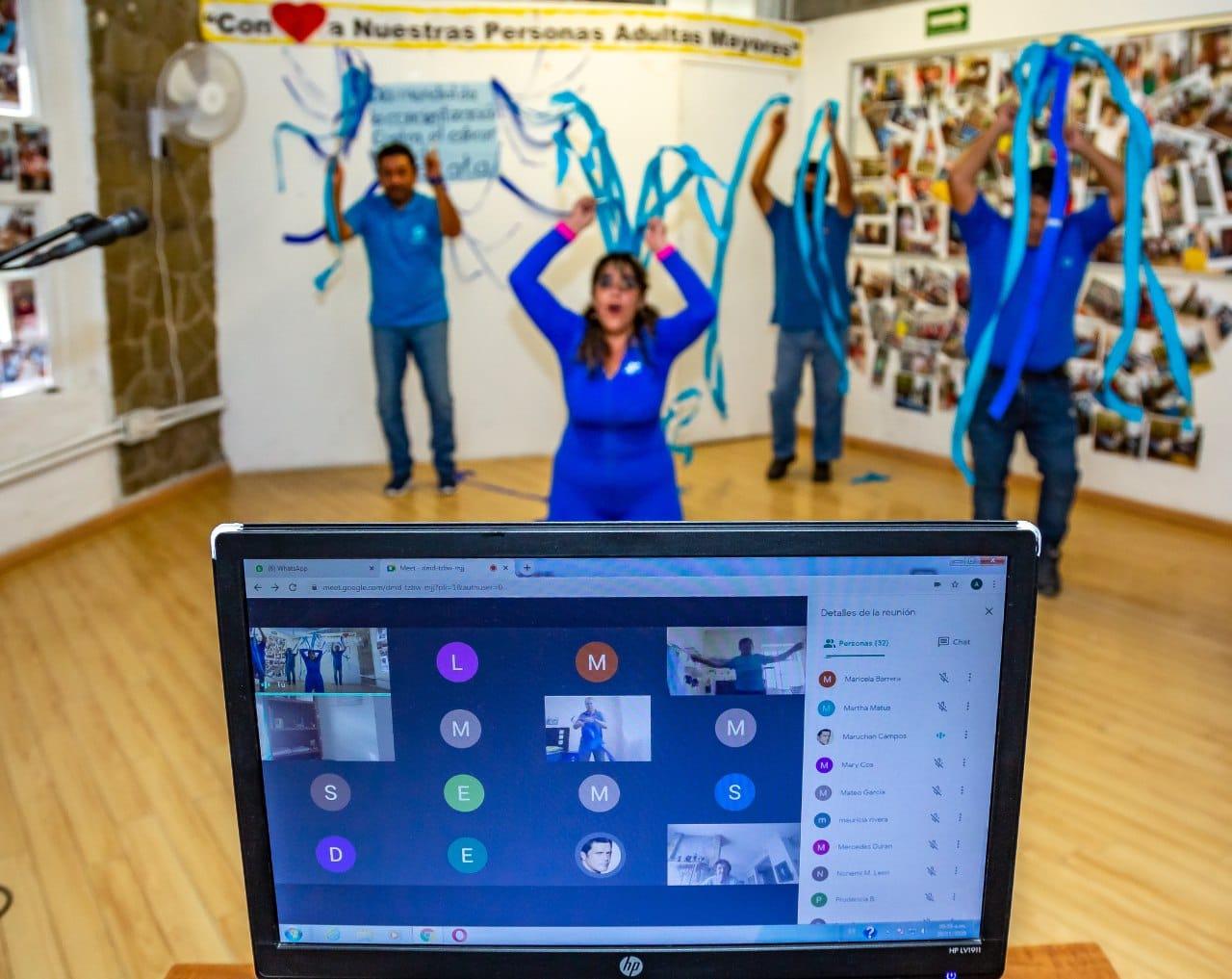 Inicia DIF de Puebla capital talleres virtuales para personas adultas mayores
