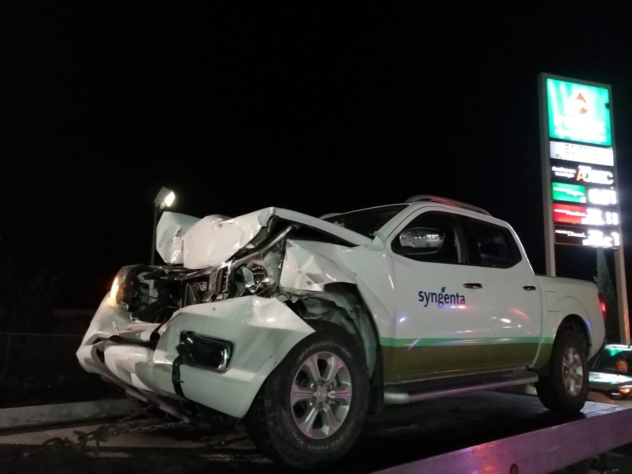 Sufren accidente regidores de Tehuacán en la México-Veracruz